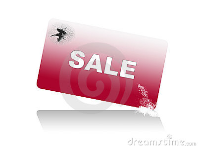Red sale ticket