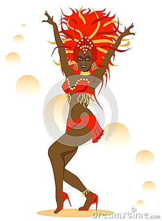 Free Red Samba Stock Photography - 1297122
