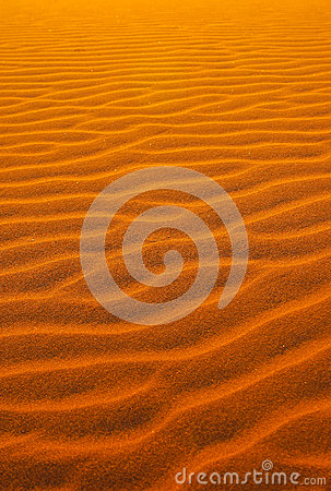 Red sand in the Namib desert