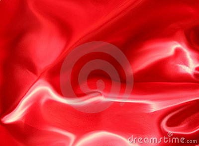 Red Satin Abstract Background