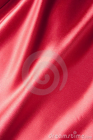 Red Satin Material