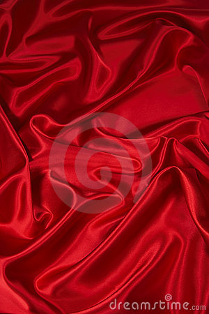 Red Satin/Silk Fabric 2