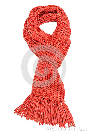 Free Red Scarf Royalty Free Stock Photo - 36434955