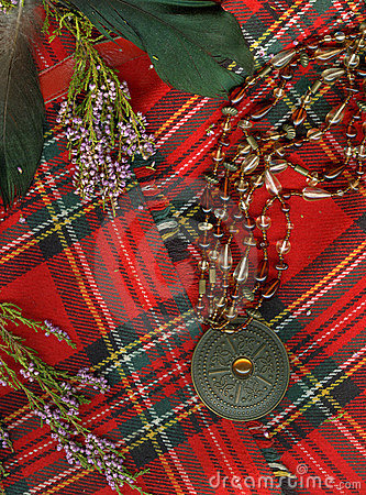 Free Red Scottish Plaid. Royalty Free Stock Photo - 6312015