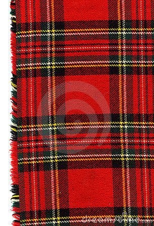 Free Red Scottish Plaid Stock Images - 6744924