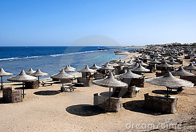 Red Sea beach - Egypt
