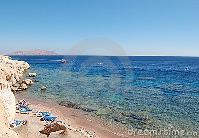 Red Sea beach, Sharm el Sheikh, Egypt