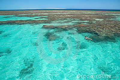 Red sea cay