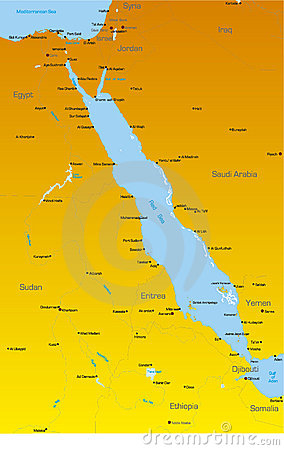 Red Sea region countries