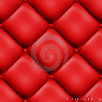 Red Seamless Padded Design