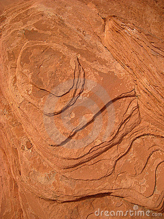 Red sedimentary rock texture