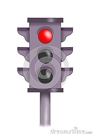 Red semaphore