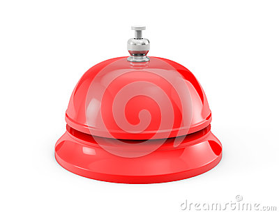 Red Service bell ring