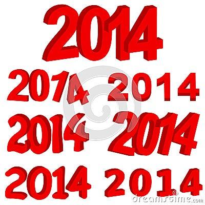 Red 2014 set