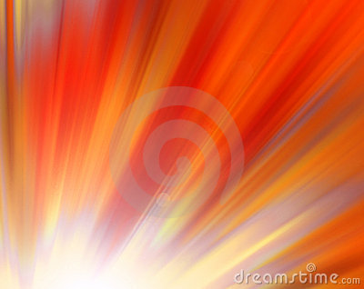 Red shine - abstract background