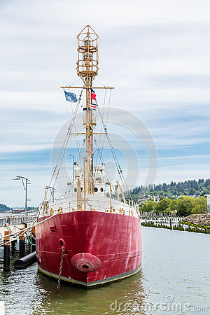 Free Red Ship In Oregon Royalty Free Stock Image - 78394966