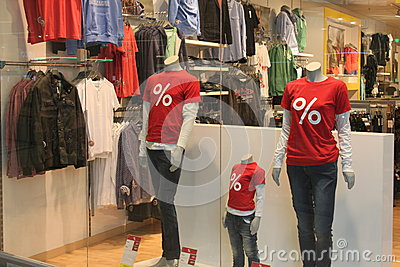 Red shirts Editorial Image