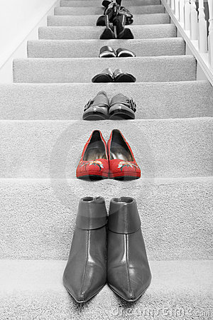 Free Red Shoes Stock Images - 6808194