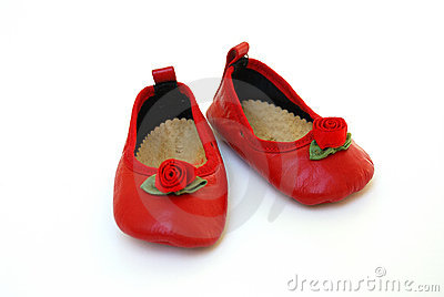 red shoes for baby