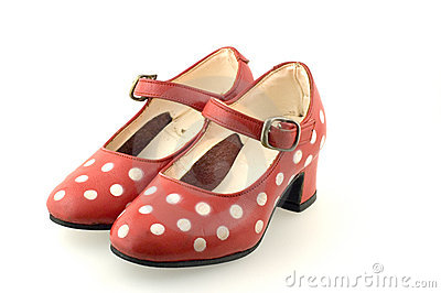 Red shoes for a girl