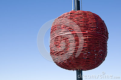 Red signal ball