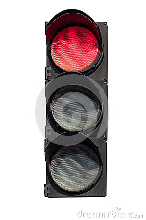 Free Red  Signal Of The Traffic Light Stock Photos - 60737803