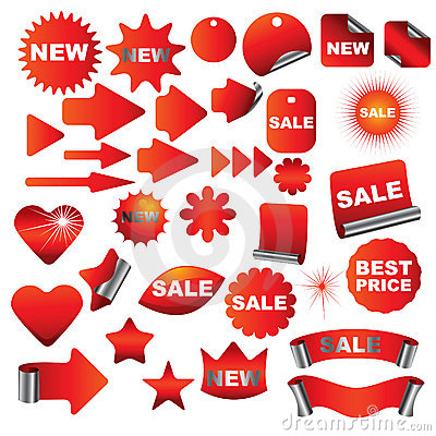 Free Red Signs Stock Photography - 9144642