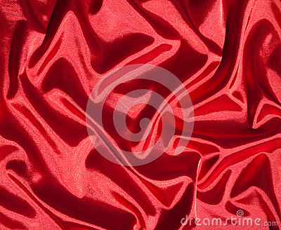 Red silk background
