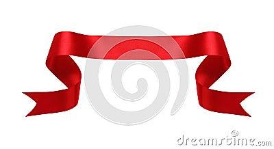 Red silk banner