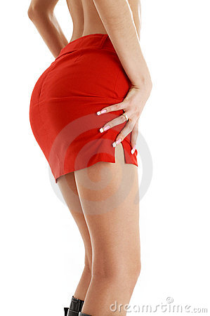 Free Red Skirt 2 Royalty Free Stock Image - 2340006