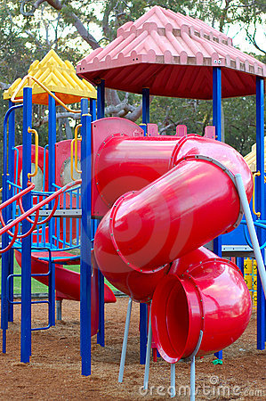 Free Red Slide Royalty Free Stock Images - 9122569