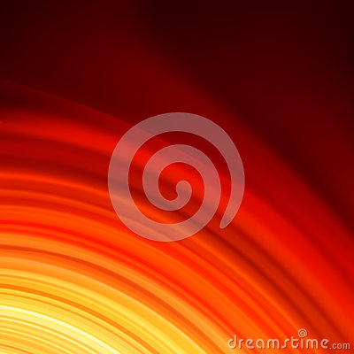 Red smooth twist light lines background. EPS 8