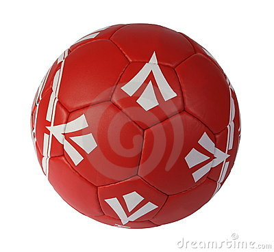Free Red Soccer Ball Stock Photo - 18734560