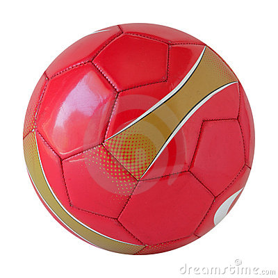 Free Red Soccer Ball Royalty Free Stock Photo - 6384285