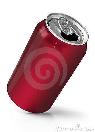 Free Red Soft Drink Can Royalty Free Stock Photography - 14790127