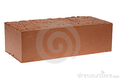 Red solid brick
