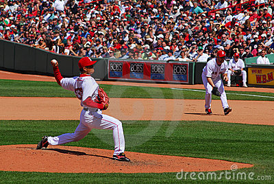 Red Sox, Hideki Okajima Editorial Stock Image