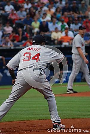 Red Sox Player David Ortiz