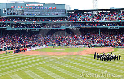 Red Sox and Yankees Fenway 2001 Editorial Image