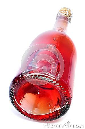 Red sparkling wine