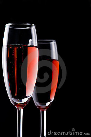 Red sparkling wine