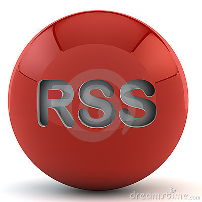 Red sphere with RSS