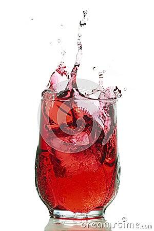 Free Red Splash Royalty Free Stock Image - 4558536
