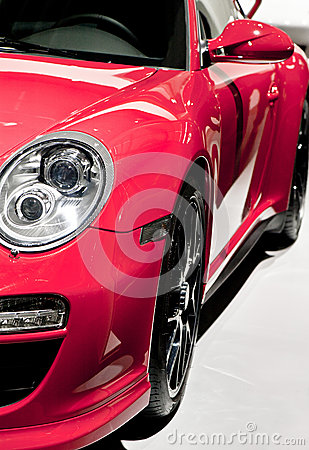 Red sport car Editorial Image