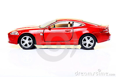 Red Sports Car Royalty Free Stock Photos - Image: 21546488
