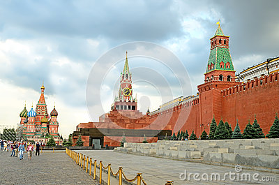 Red square in Moscow, Russia Editorial Image