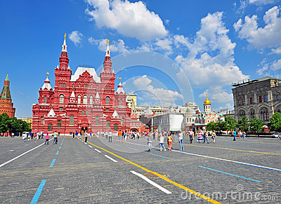 Red Square, Moscow Editorial Image