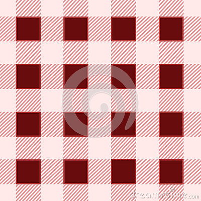 Red square seamless vintage pattern