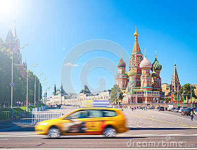 Red square and St. Basil Cathedra