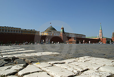 Red Square on a summer day, Moscow, Russia